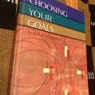 Choosing your goals (The dimensions in health series), Book 6  Teacher's Edition– 1967