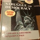 The Struggle for Democracy: Election Update Hardcover – Import, 2002 by Edward S. Greenberg