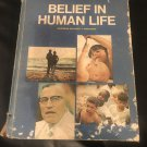 Belief in human life - Hardcover – 1969 by Anthony T Padovano (Author)
