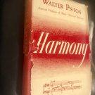 Harmony –Hardcover – January 1, 1941 by Walter Piston  (Author)
