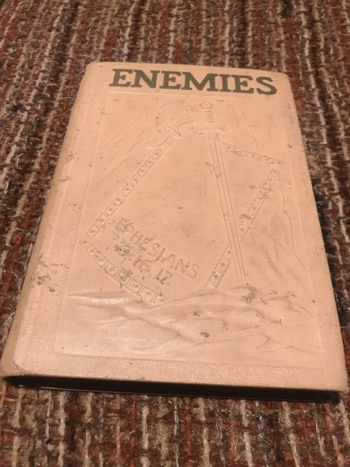 ENEMIES: THE PROOF THAT DEFINITELY IDENTIFIES ALL ENEMIES Hardcover � 1937 by j.f. rutherford