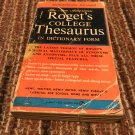 The New American Roget's College Thesaurus in Dictionary Form 1962 by MOREHEAD