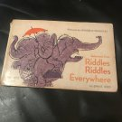Selections from Riddles Riddles Everywhere  – Paperback – January 1, 1973 by Ennis Rees (Author)