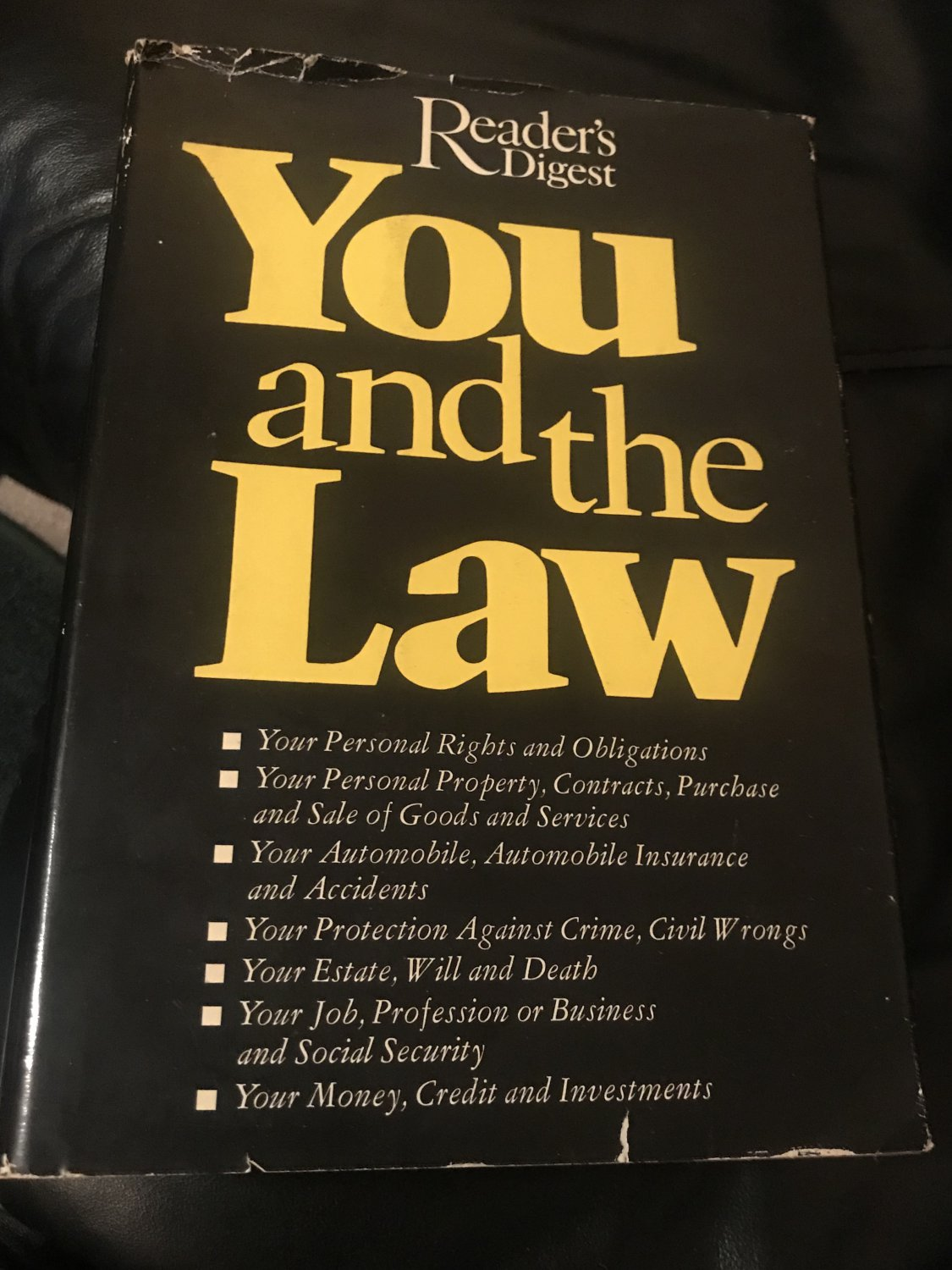 You and the Law �  Hardcover � 1977 by Reader's Digest Editors (Author)