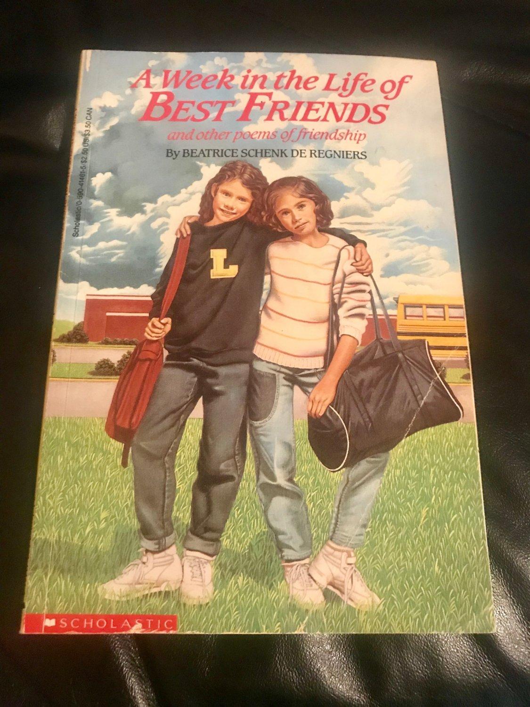 Week in the Life of Best Friends � Paperback � May 1, 1988 by Beatrice Schenk De Regniers