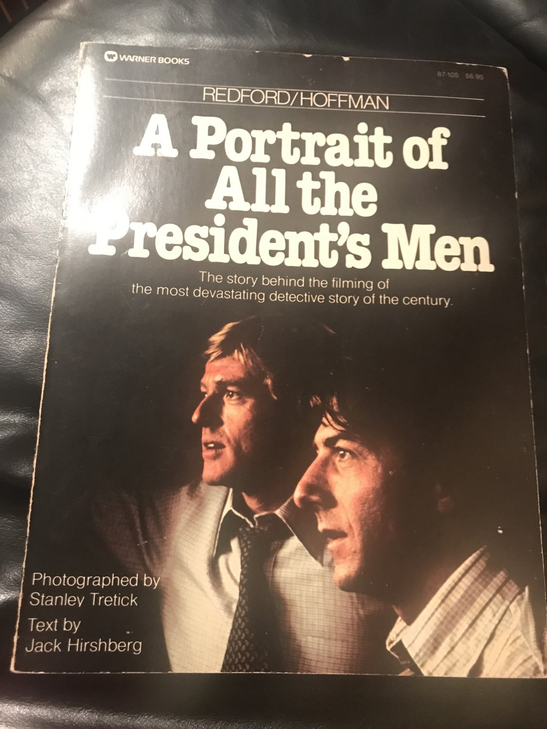 Redford/Hoffman: A portrait of All the president's men  � Paperback � 1976 by Jack Hirshberg