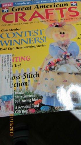 Great American Crafts - Sew A Plush Felt Bunny - Cross Stitch Bookmarks