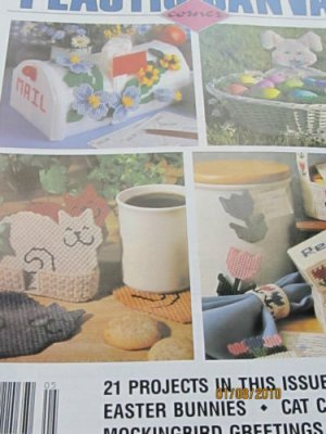 21 Fresh Spring Ideas -  For Plastic Canvas Cat Coaster Kitchen Tulip