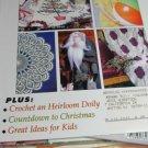 Flower & Garden Crafts Edition - Knit A Summer Afdghan - Chrochet Heirloom Doily
