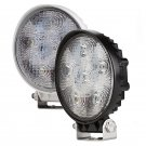 2x18W 1500Lm Round Heavy Duty Spot LED Work Light Off road 4WD 4x4 Truck 10-30V