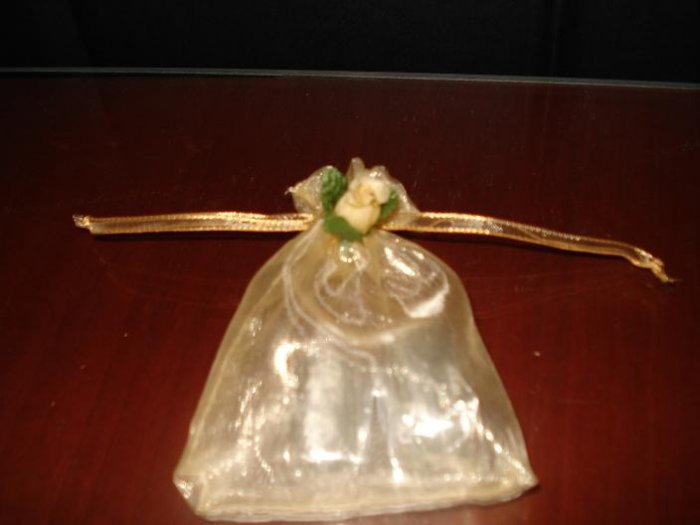 Mini gold bag