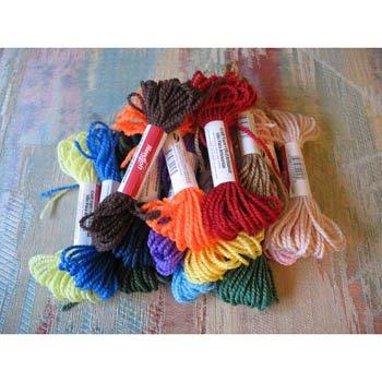 NEEDLOFT Plastic Canvas Craft Yarn Lot of 15