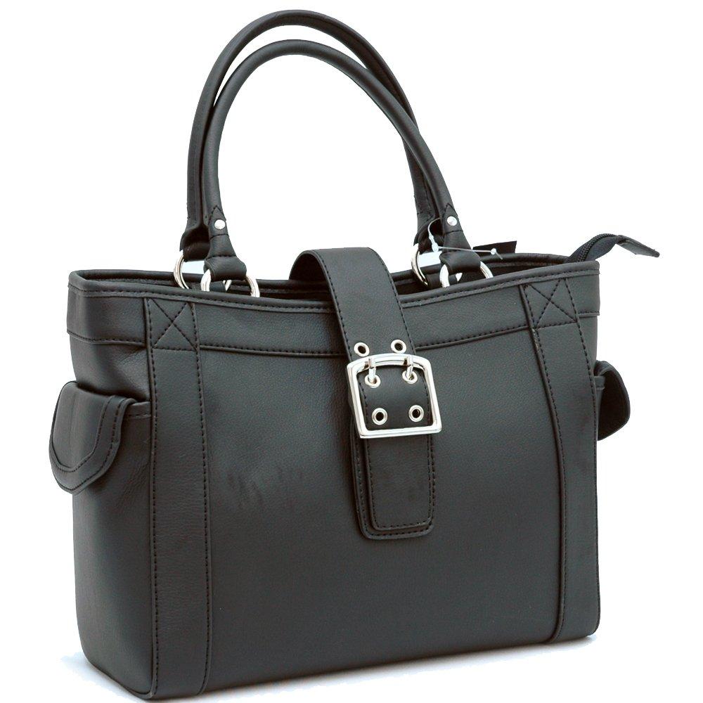 Designer inspired shoulder bag      Black