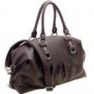 Designer inspired shoulder bag      Brown