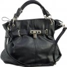 lock front precious hobo bag with shoulder strap