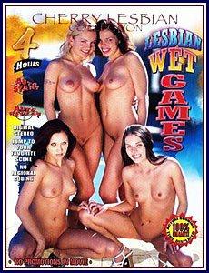 Cherry Lesbian - Lesbian Wet Games 4hr Adult DVD