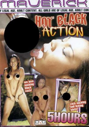 Hot Black Action 5 Hr Adult DVD - Black Girls