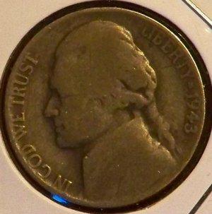 1943 war nickel silver Jefferson