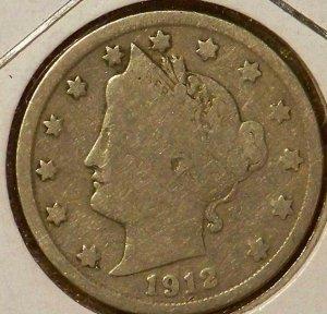 1912 Liberty Nickel (V-Nickel)