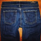 "Womens Citizens of Humanity ""Ava"" Dark Faith Straight Jeans Size 25 x 33"