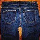 "Womens Citizens of Humanity ""Ava"" Dark Faith Straight Jeans Size 25 x 33"