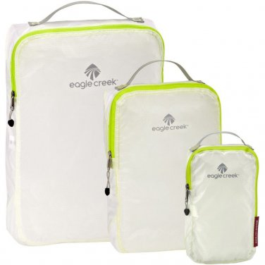 Eagle Creek Pack-It Specter Travel Organization Cube Set White Strobe Neon Green