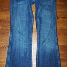 Womens Citizens of Humanity FAYE Low Waist Full Leg Jeans Size 26 x 30