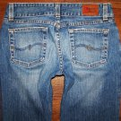 Womens BKE Buckle CULTURE STRETCH Low Flare Cut Jeans Size 27 x 31