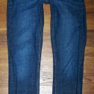 Womens J Crew MATCHSTICK Dark Stretch Slim Straight Jeans Size 28 x 31 * NICE *