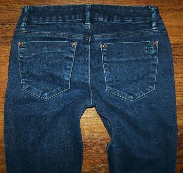 "Womens Joe's ""Honey Booty"" Dark Romi Boot Jeans Joes Size 27 x 30"