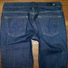"Womens Ag Adriano Goldschmied ""the Club"" Dark Boot Jeans 26 x 33"