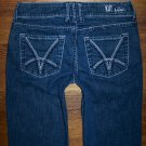 Womens KUT from the Kloth Dark Stretch Flare Cut Jeans Size 2 x 32