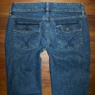 Womens GAP CURVY Stretch Flap Pkt Boot Cut Jeans Size 6 x 31