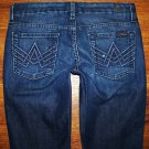 SEVEN 7 FOR ALL MANKIND Bling A POCKET Petite LEXIE Boot Jeans 26 x 31 * NICE