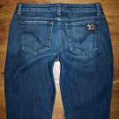 JOE'S HONEY Dark Gigi Wash Stretch Flare Cut Jeans Women's Size 29 x 33
