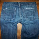 CITIZENS of Humanity FAYE North Pacific Low Waist Full Leg Jeans Size 26 x 30