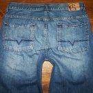 GUESS Premium Denim MIAMI Button Fly Straight Leg Jeans Men's Size 36 x 29.5