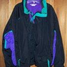 Vintage Men's XL Winter Jacket Columbia Bugaboo Black 3 in 1 Coat Lined