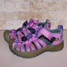 Girls Keen Whisper Pink Waterproof Sandals Shoes Size 9
