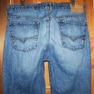 Mens Guess Dark Sterling Wash Bootcut Jeans Size 34 x 32