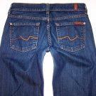 Womens 7 Seven For All Mankind Flare Jeans Size 26 x 30