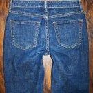 WOMENS Gap 1969 Classic Stretch Dark Blue Jeans Size 1 x 30