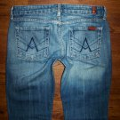 Womens 7 Seven For All Mankind A Pocket Flare Jeans 28 x 29