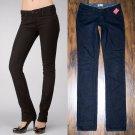 Paige Skyline Black Diamond Wash Slim Straight Leg Jeans 25 x 34