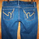 Citizens Of Humanity Sienna 086 Stretch Straight Leg Low Waist Jeans Size 28