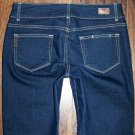 Paige Hidden Hills Deep Sea High Rise Boot Cut Jeans Size 29 x 31 Petite
