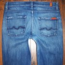 7 For All Mankind High Waist Dark Bootcut Jeans Size 29 x 29
