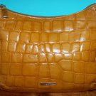 DESMO Original Italian Croc Shoulder Bag Leather Purse