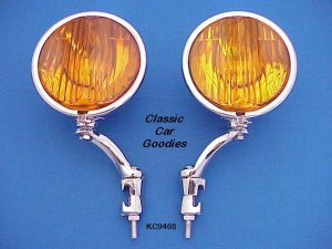 Fog Lights #2 Chevy Cadillac Lincoln Packard 1927 1929 1938