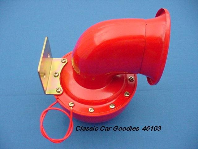 "Angry ""Bull"" Horn. 12 Volt. New. Don't mess with the..!"